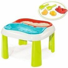 Smoby table sable et eau + accessoires