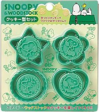 Snoopy Design Cookie Stamp et Cookie Cutter Se