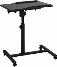 Sobuy fbt07n6-sch table de lit canapé table
