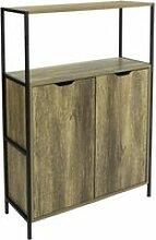 Sobuy fsb38-t buffet commode meuble de rangement