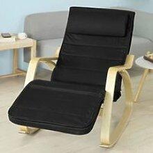 SoBuy® FST16-Sch Rocking Chair, Fauteuil à