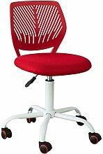 SoBuy® FST64-R Chaise de Bureau Ergonomique