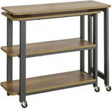 Sobuy fwt83-pf table d'appoint rotative, bout