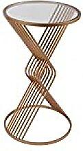 Socadis - Sellette Filaire Ronde métal doré