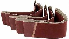 SOEKAVIA Lot de 5 bandes abrasives pour matériaux