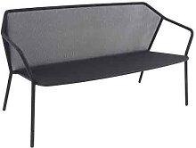 Sofa 2 places DARWIN de Emu, Fer ancien
