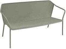 Sofa 2 places DARWIN de Emu, Gris vert