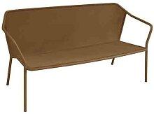 Sofa 2 places DARWIN de Emu, Marron d'Inde