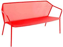 Sofa 2 places DARWIN de Emu, Rouge écarlate