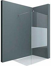 Sogood Paroi de douche à l'italienne 120cm