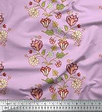 Soimoi Designer Georgette Tissu 44 Pouces de Large
