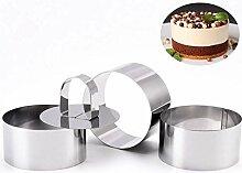 sokey 3 PCS Cercles à Pâtisserie, Moules à