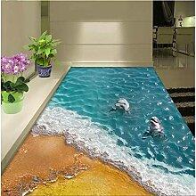 Sol 3D personnalisé pour les amoureux de la baie