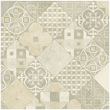 Sol PVC Sous Couche Textile - Carreaux Art Déco -