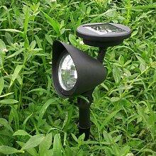Solaire 3 LAMPE DE JARDIN LED Spot Partie Chemin