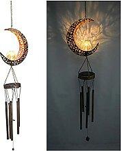 Solaire LED carillons éoliens lumière Jardin