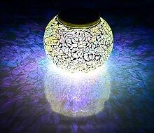 Solaire Mosaïque Lumières Lampe de Bureau