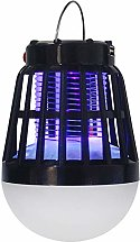 Solaire Rechargeable Lampe Anti Moustique 2 en 1