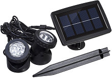 Solaire Super Bright 2 Lampes LED Underwater 12