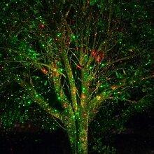 Solairepratique Projecteur laser rouge et vert à