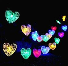 Solaires Coeur D'amour Lumières
