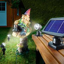 Solarspot Trio spot solaire lumière solaire LED