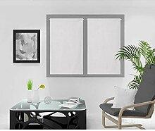 Soleil d'ocre Rideaux Brise-bise, Blanc, 60 x