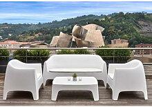 SOLID - Salon de jardin Vondom blanc