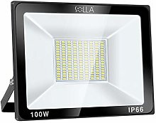 SOLLA Projecteur LED 100W, IP66 Imperméable,