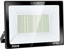 SOLLA Projecteur LED 300W, IP66 Imperméable,