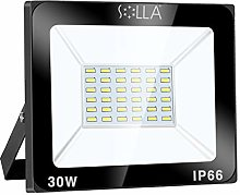 SOLLA Projecteur LED 30W, IP66 Imperméable,
