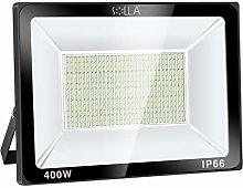 SOLLA Projecteur LED 400W, IP66 Imperméable,