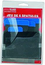 SOLOPLAST 135289 Jeu de 6 spatules, Multicolore