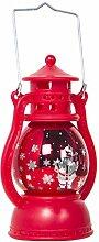 SOLUSTRE Lanterne Décorative de Noël LED Lampe