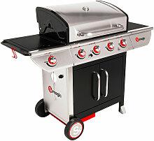 SOMAGIC - Barbecue au gaz MANHATTAN 450GPI - 4