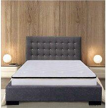 Sommier Et tête de lit Louna King Size 200x200 -