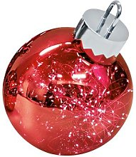 Sompex Boule lumineuse, 30 cm - Rouge