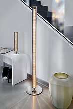 SOMPEX - Lampe à poser colonne chrome SUNNY
