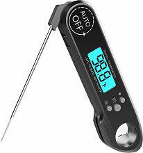 Sonde de thermometre de barbecue etanche sans fil