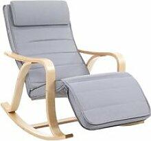 SONGMICS Fauteuil à bascule - Rocking Chair -