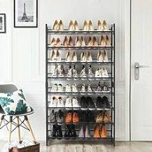 SONGMICS Meuble à Chaussures de 8 Niveaux -