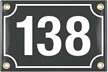 Sosenco Plaque Numéro de Maison   10x15 cm  