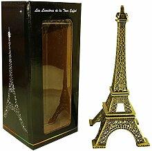 Souvenirs de France - Tour Eiffel Miniature Métal