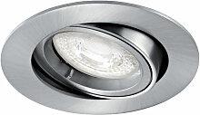 SPEED 70 R 230 - Encastre GU10, rond, basculant,