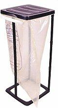 Spetebo Support pour sac poubelle en noir – 60