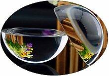 Sphère de Cristal Grossissant Demi-Boule 80 mm