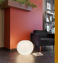 Sphère lampadaire design extérieur intérieur
