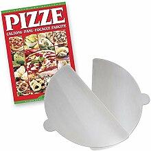 Spice Lot de 2 palettes à pizza en aluminium