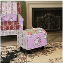 Splendide meubles serie chi?in?u pouf capitonné