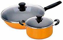 SPNEC Set de casseroles et casseroles en cuivre